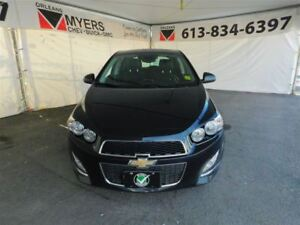 2015 Chevrolet Sonic RS 1.4 TURBO LEATHER SUNROOF!!!