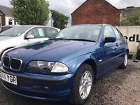 AUTOMATIC , BMW 3 Series 1.9 318i SE 4dr 2001 Saloon 103,127 miles Automatic MOT 05/07/2018