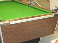 Pub Style Pool Table For Sale