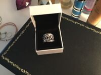Silver 925 ring size P