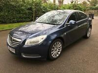 VAUXHALL INSIGNIA SE CDTI AUTO 2010 BLUE FULLY LOADED DRIVES THE BEST