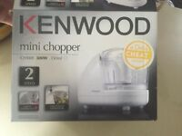 Brand new Kenwood mini chopper