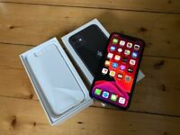 IPHONE 11 BLACK 64 GB UNLOCKED FULLY BOXED NEW WITH SCREEN PROTECTOR ON