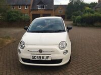 FIAT 500 1.2 42000 12 months MOT no advisories