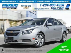 2014 Chevrolet Cruze 1LT *Remote Start, Rear View Camera, OnStar