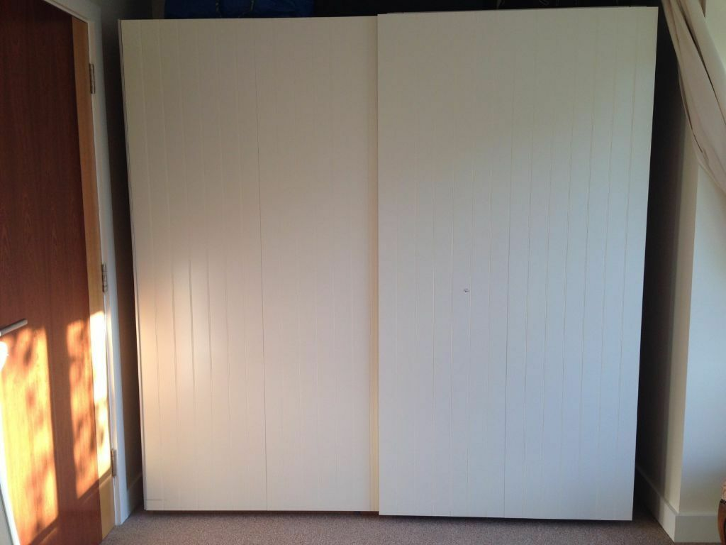 Ikea pax sliding doors only bergsfjord in lymington for Sliding glass doors gumtree