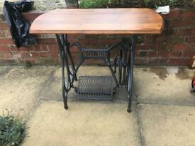 Cast iron garden or dining table