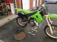 98 KX 125cc and full kit