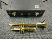 Trumpet e-benge resno tempered 3 costum built L A, ML 30339