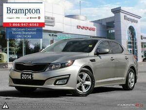 2014 Kia Optima LX | TRADE-IN | CLEAN CARPROOF | CD | HEATED FRO