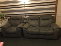 Electric recliner sofa and chair