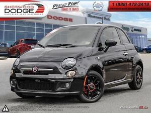 2015 Fiat 500 SPORT | BLUETOOTH | MEDIA HUB | SECURITY ALARM