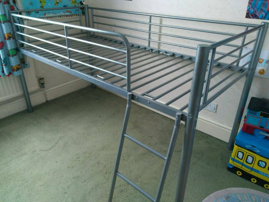 Single metal bed frame cabin bed | in St Austell, Cornwall | Gumtree