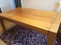 Extending Solid Dining Table or Workbench