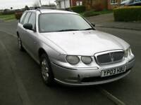 2003 rover 75 automatic cdti estate (88k from new)