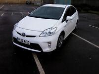 2012 TOYOTA PRIUS 1.8 PETROL HYBRID IN WHITE - LOVELY CAR - GREAT MPG - GENUINE JAPANESE IMPORT -