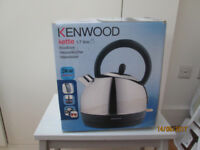 New Stainless steel Electric KENWOOD KETTLE 1.7 litre