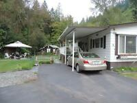 Excellent Double wide in Baker Trails, Chilliwack BC $199,900
