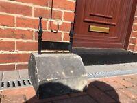 Stone Boot scraper