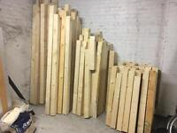 4x4 inch structural timber in various lengths very good condition (100mm x 100mm, 10cm x 10cm)