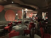 Experienced bartenders/waiter/ess needed for an oriental restaurant based in Richmond London.