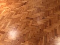 Reclaimed parquet flooring - bargain price!!