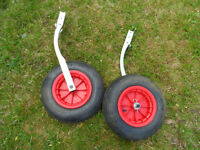 dinghy boat inflatable rib launch wheels