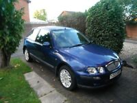 Rover 25, impression 1.4 hatchback,2001,one owner from new,genuine 46000,documented fsh 11 stamps