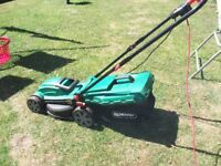 Qualcast Rotary Electric lawnmower in excellent condition BARGAIN £35.00