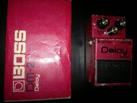 Boss DM-2 - MIJ classic vintage analog delay pedal