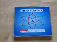 Club cuts dance music CD 1997. £1