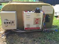 Battery box, consumer unit & logic 1 12v power supply