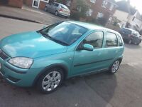 vauxhall corsa 2003-2004 for spare or repear.