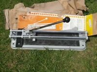 Tile Cutter . will cut a tile up to 10mm thick x 330 mm