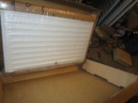 Double radiator unused.