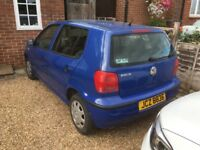 Vw polo 1.4 4 door spares or repair