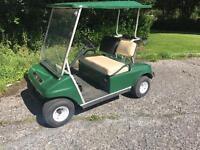 Petrol club car golf buggy