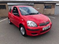 BARGAIN TOYOTA YARIS T2 SERVICE HISTORY RELIABLE CAR 1 OWNER PX WELCOME £595