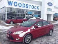 2012 Ford Focus RED CANDY SEL, NAVIGATION