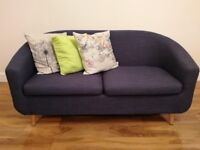 Sofas (Pair) (Fashion and Stylish) with 6 cushions