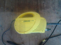 Karcher pressure washer. Model 090. Used about 6 times. Very good condtion.