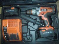 AEG hammer drill.