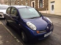 Nissan Micra for sale, Perfect for a first car!