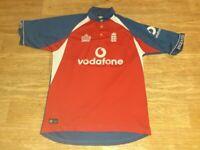 England cricket shirt admiral Vodafone large
