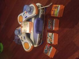 Vtech motion game machine with 5 games