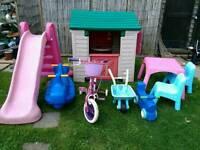 Various outdoir toys