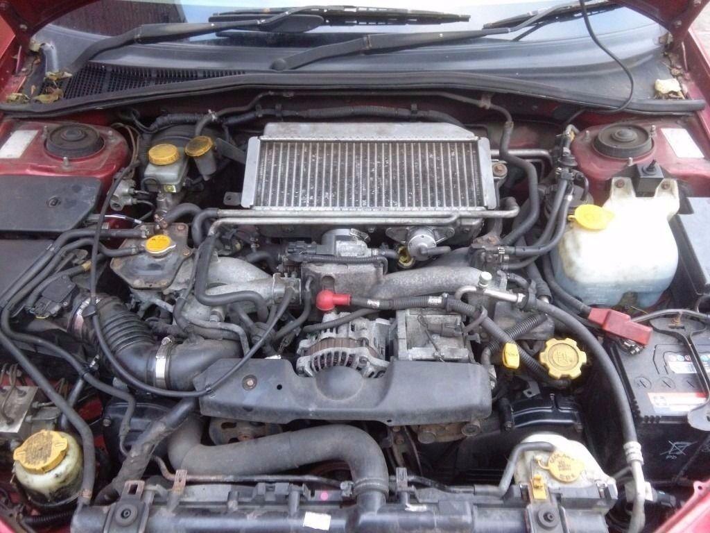 SUBARU IMPREZA WRX BUGEYE / BLOBEYE ENGINE COMPLETE