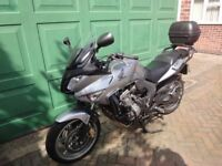 Honda CBF600SA Silver