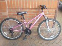 "Girls Pink Bike (24"" Apollo)"