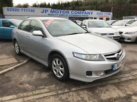 2007 HONDA ACCORD SPORT I-CTDI SILVER NEW MOT CHEAP DIESEL FAMILY CAR